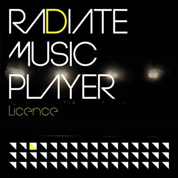 Licence RADIATE MUSIC PLAYER